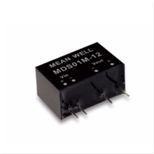 Taiwan mds01l-12 medical <strong>module</strong> converter with extremely low leakage and non-stabilized voltage <strong>1W</strong>/12V/ 0.084a