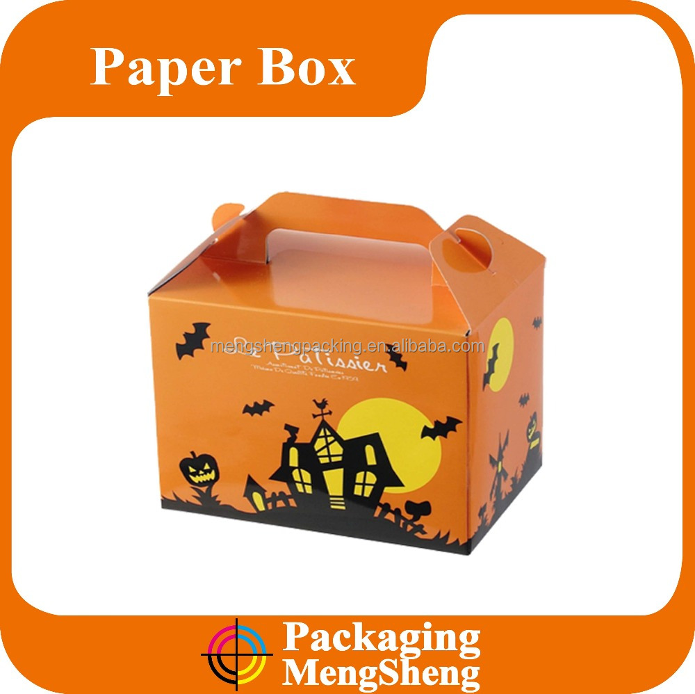 Halloween gift box paper box for candy /toy