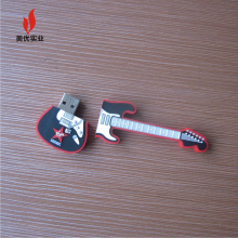 custom guitar shape rubber usb drive Customized pvc Truck/Container truck/Crane Carrier Shape usb flash drive