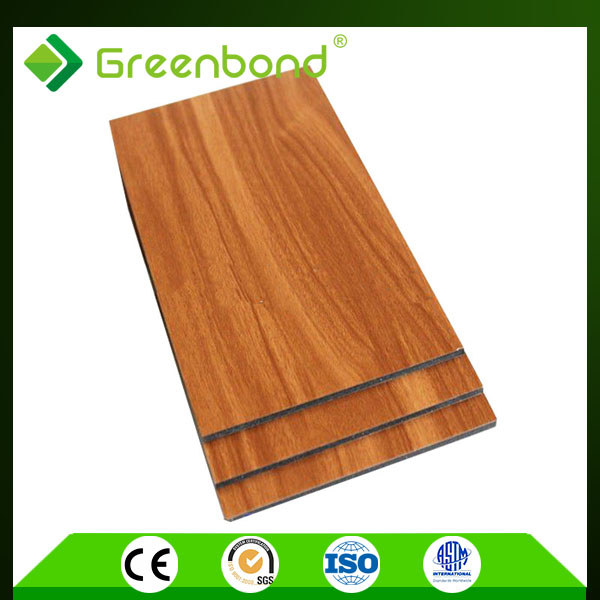 Greenbond insulation sheet with aluminium cladding translucent aluminum composite sheet
