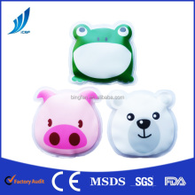 Cute Animals Shape Soft reusable gel hot cold pack /Gel Cold hot ice pack for body comfort
