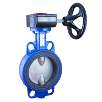 1 Inch Wafer Handle PTFE Butterfly Valve
