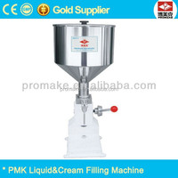 China factory manual can filling machine, cream filling machine, honey filling machine