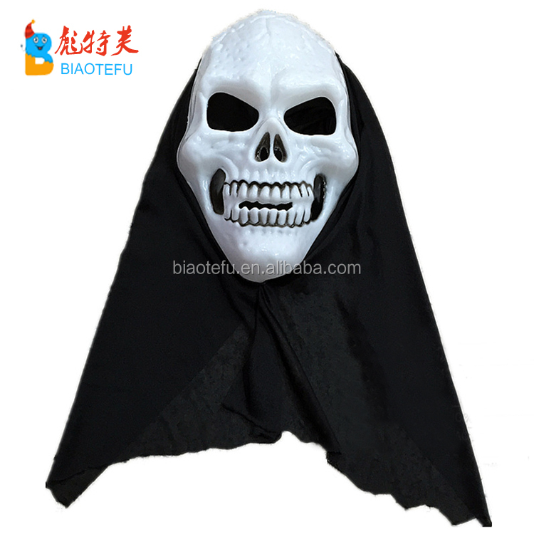 halloween plastic vampire skull full- head mask