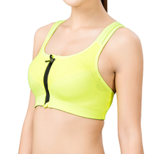 2015 Wholesale Full Support Cheer Gym Wear Sexy Yoga Sports Stylish Women Nude Bra Suit
