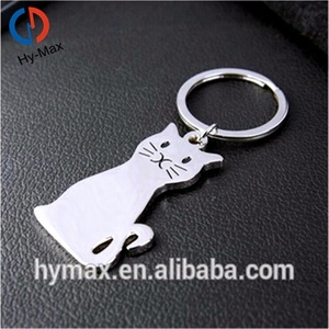 Custom High Quality Animal Cat Shape Penis Keychain