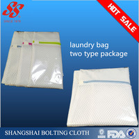 2015 eco-friendly folding laundry bags with draw strings