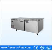 HOT SALE Two door Stainless steel refrigerated sandwich counter