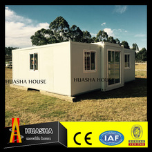 Fast construction houses with made of recycled material