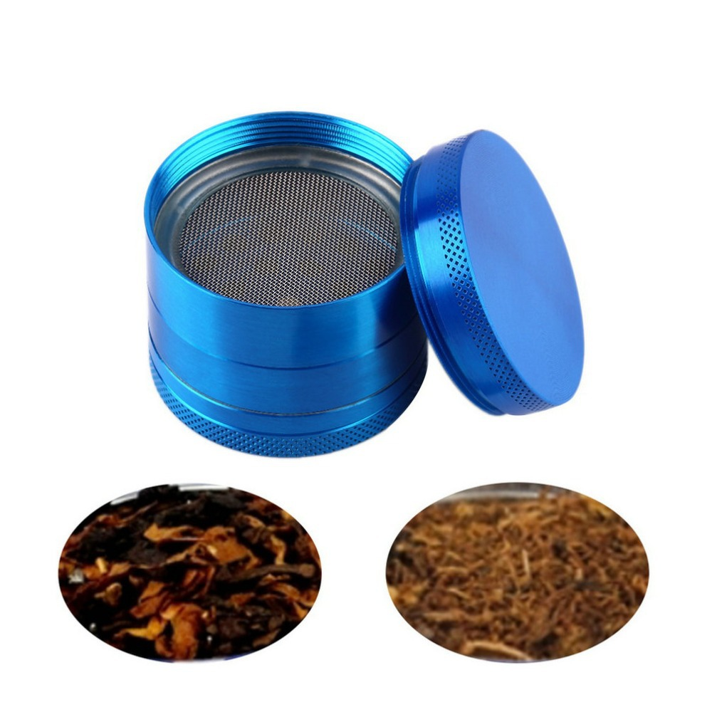 "4 parts 40mm 1.968'' CHROMIUM"" zinc alloy metal herb grinder crusher Tobacco Spice Crusher smoking grinder sets hot search"