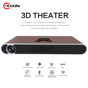 Full HD 1080P videos 3D smart projector 3000 Lumens Dlp led outdoor Wall Projector