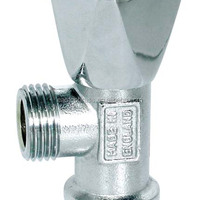 Chormed Brass Angle Valve 90 Degree