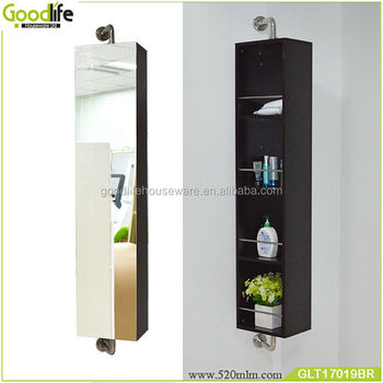 Goodlife good quality bathroom furniture wood cabinet corner