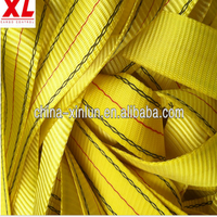 Polyester webbing belt used for Tow straps and Ratchet straps