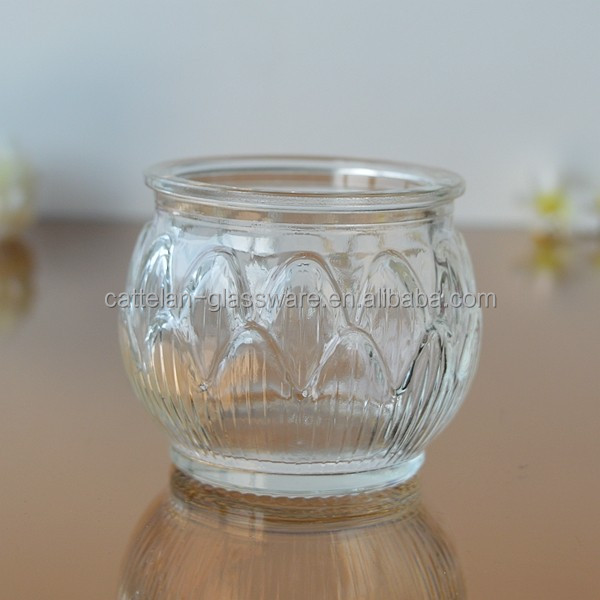 Embossed small hanging /dangling glass vase jar with iron wire for water culture