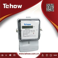 10(100)A MID certificated solar watt meter record meter reverse electric with infrared port meter