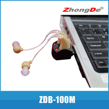 2014New product from double device chargeable Hearing aids digital hearing aid or sound amplifier