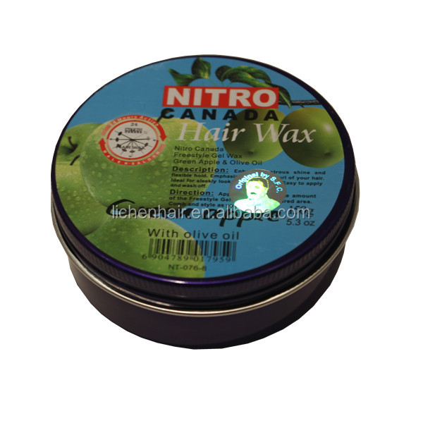 China manufacturer private label acceptable nitro canada hair wax