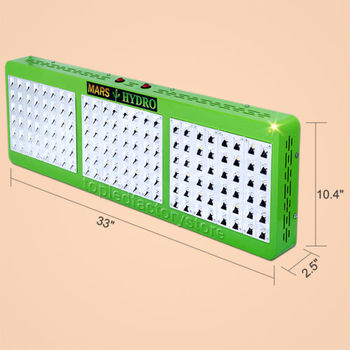 Hydrophonic Growing Mars Hydro Reflector 144 LED Grow Light for Indoor Growing Plant with 5 Watt Chip