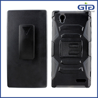 Robot Holster Belt Clip Combo Case for Sony Z3