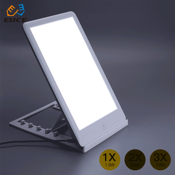 intelligent touch screen switch Nature Bright SunTouch Plus Light and Ion Therapy Lamp