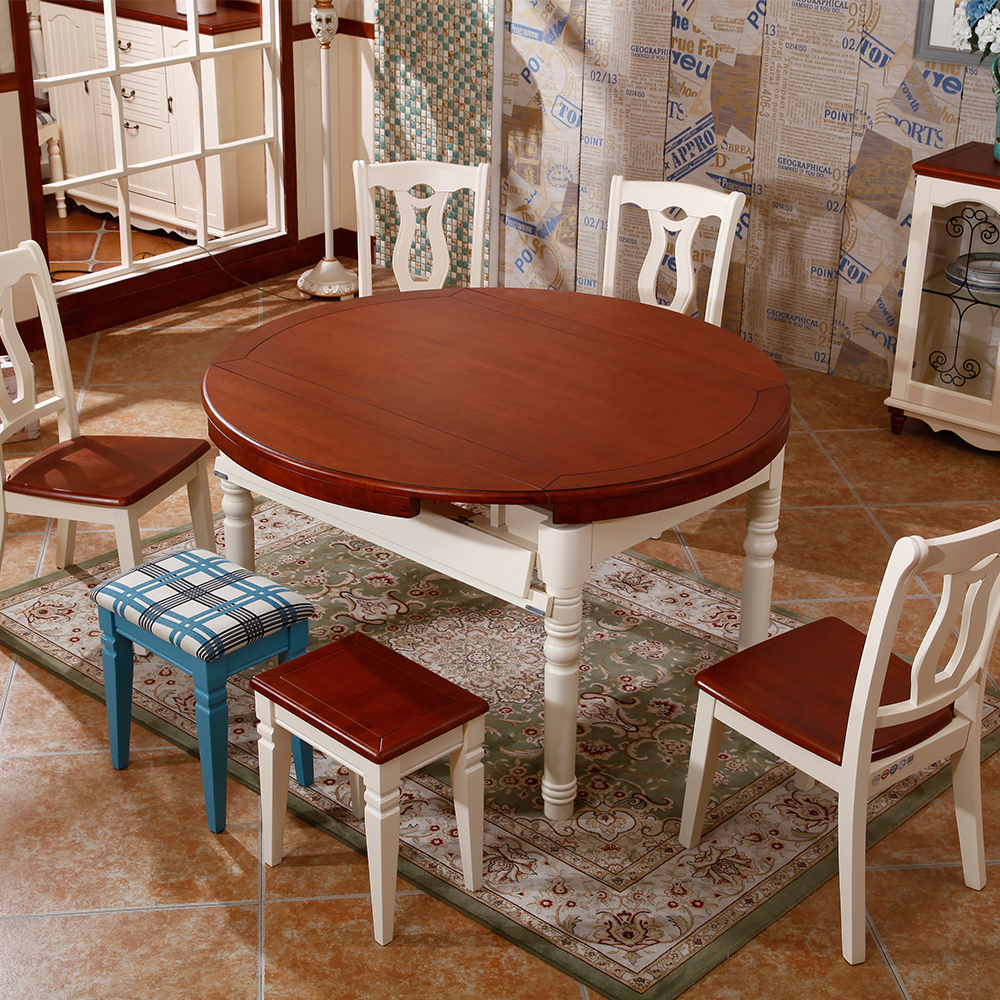 wood round extendable dining table buy round extendable dining table