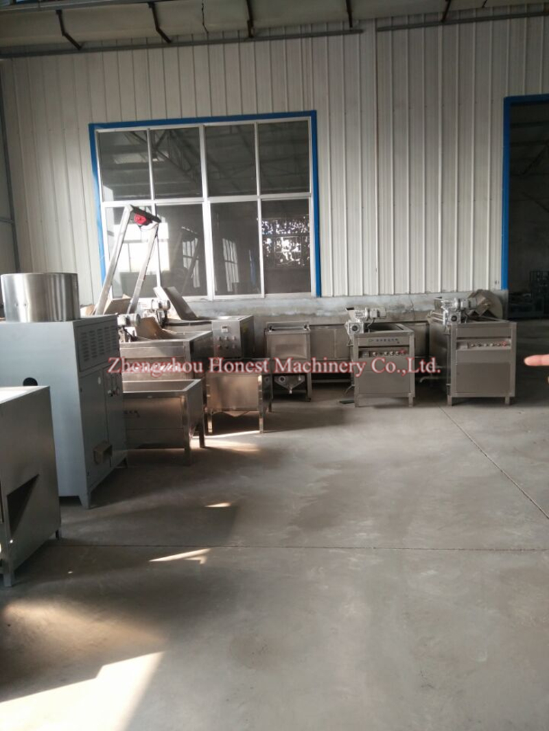 Stainless steel Machine to Make Potato Chips / Fresh Potato Chips Making Machine Price for Factory