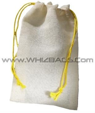 Canvas Cloth Cotton Fabric Woven Drawstring Bags or Sacks