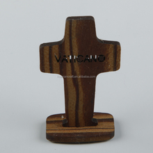 Hot sale cheap religious China factory supply olive wood crucifix
