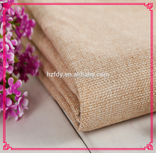 High quality upholstery jute sofa oxford linen fabric