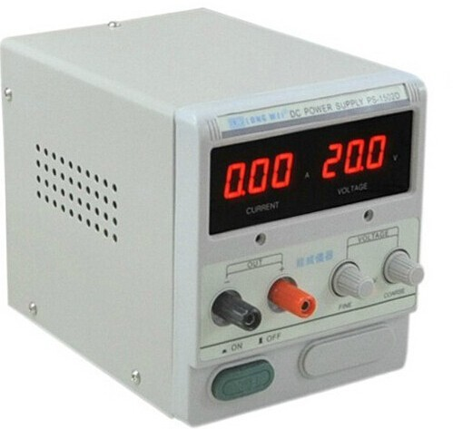 good product and hot sale LW PS-1502D single channel 0-15V/0-2A Digital DC power supply