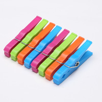 Laundry plastic clothes pegs