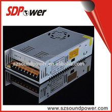 SDPower cost-effective metal case 300W switching power supply Open frame for CCTV CAMERA / LED