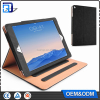 Newest Factory Price For iPad Pro12.9 Flip Tan tab Pu Leather Tan Case For iPad Pro12.9 With Stand Tablet Case Flip Cover