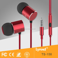 Quality handsfree wired headset best earphone manufacturer