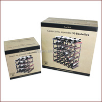 display wine rack paper carton box