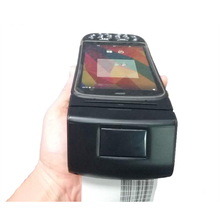 Handheld Smartphone 4G Android Cheap Receipt Printer with Smart Card Reader Writer and Fingerprint Scanner