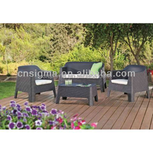 2017 American style sofa furniture outdoor rattan and bamboo furniture