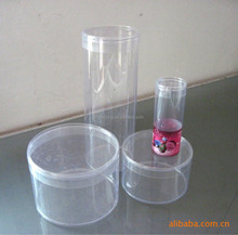 GH10-hot sale factory price plastic clear round tube box with lids