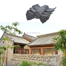 Oriental building material ceramic Japanese style clay roof tiles