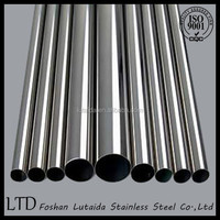 Factory direct Sales -201 304 316L stainless steel tube +competitive price with good quality