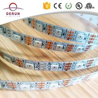 5V each led addressable 30leds/m 5m/reel LED Strip WS2812B