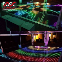 DNA World Top Selling Super Slim And Portable Patent Led Dance Floor Panels Light Weight For Disco Wedding Car Exhibition