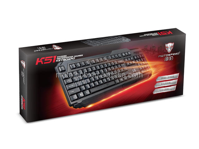Hot selling wired USB PS2 standard computer keyboard