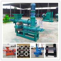 High quality hot selling coal rod forming machine coal briquette extruder machine