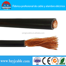 YH/YHF Copper strands conductor, rubber/pvc insulated welding cable Rubber Cable