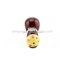 wholesale handmade fashional wooden Japanese lucky doll
