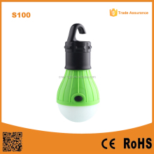 Outdoor Camping Lamp Hanging Tent Light 3 LED Bulb Camping Lanterns Battery Powered Camping Lantern