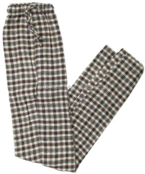 Men's 100% Cotton Flannel Pajama Pant
