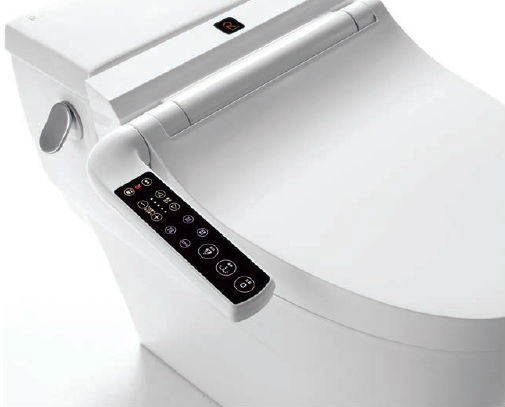 Touch screen button type of smart toilet seat, RB1300 series